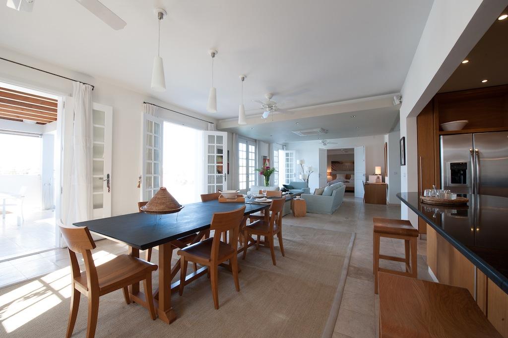 Villa Sur Le Port - Luxury Villa Rental in the Heart of Gustavia St Barth - Main Area