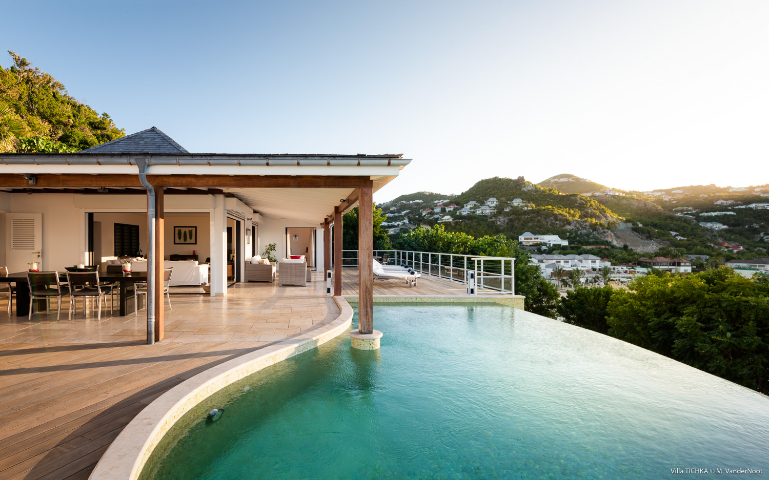 Villa Tichka - Oceanfront Villa for Rent St Barth Ideal for Two Couples - Pool