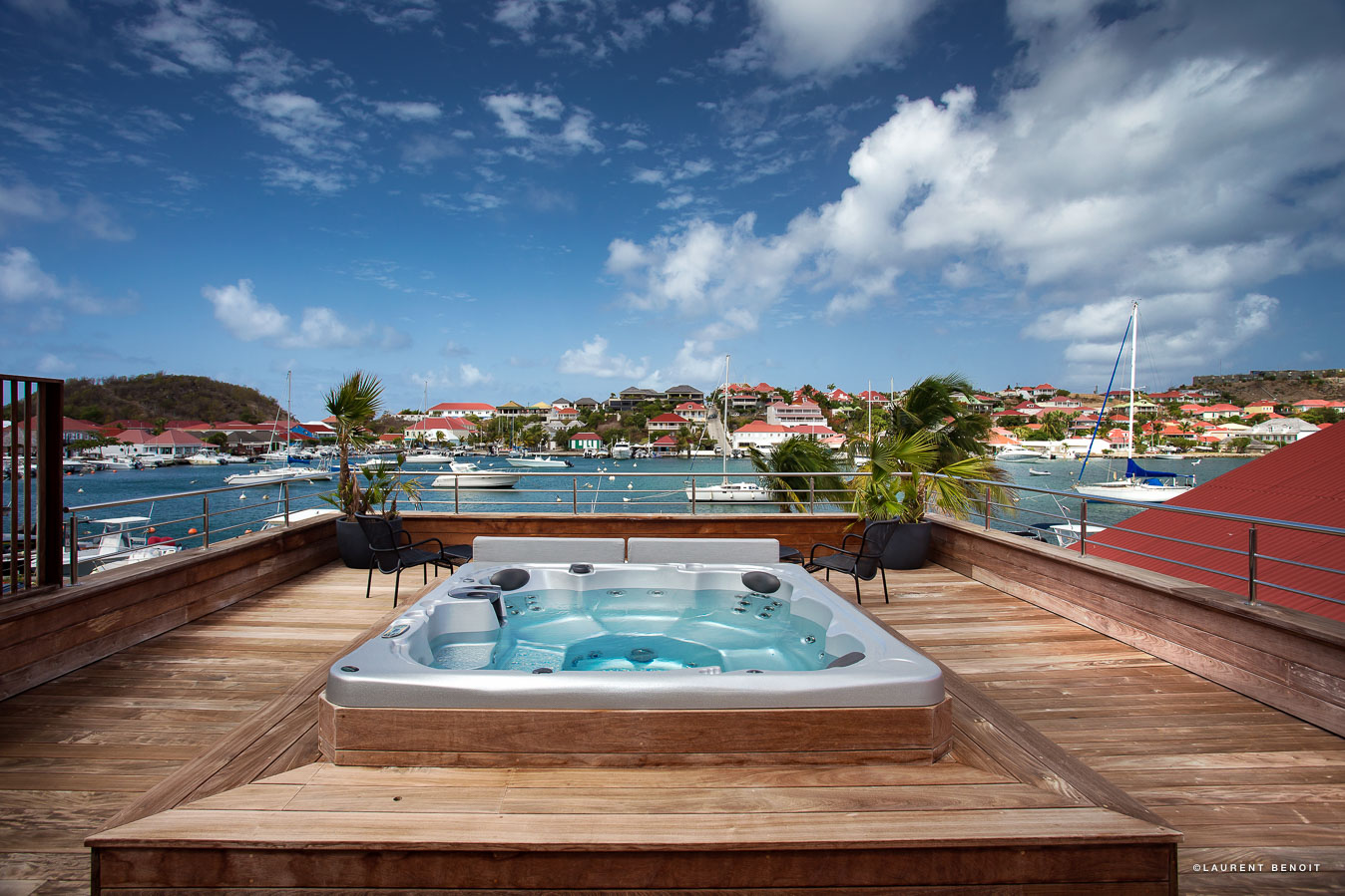 Apartment Rive Gauche - Perfect Honeymooners Apartment for Rent St Barth in the Heart of Gustavia - Jacuzzi