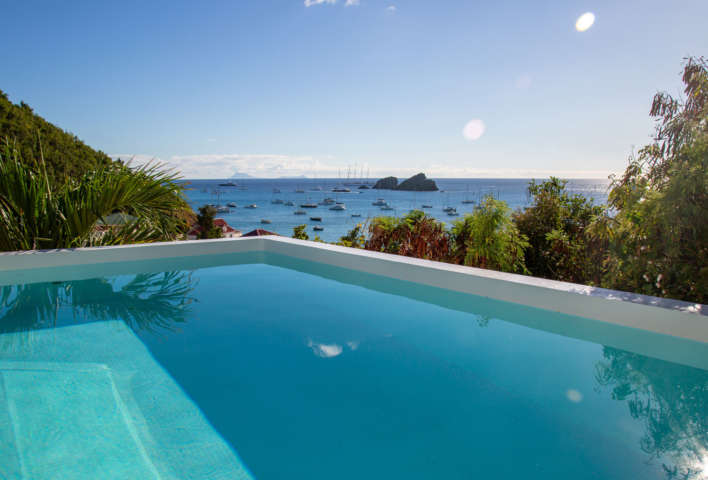 Villa Aka - 3 Bedroom Villa for Rent St Barth Corossol with an Amazing View - Swimming Pool