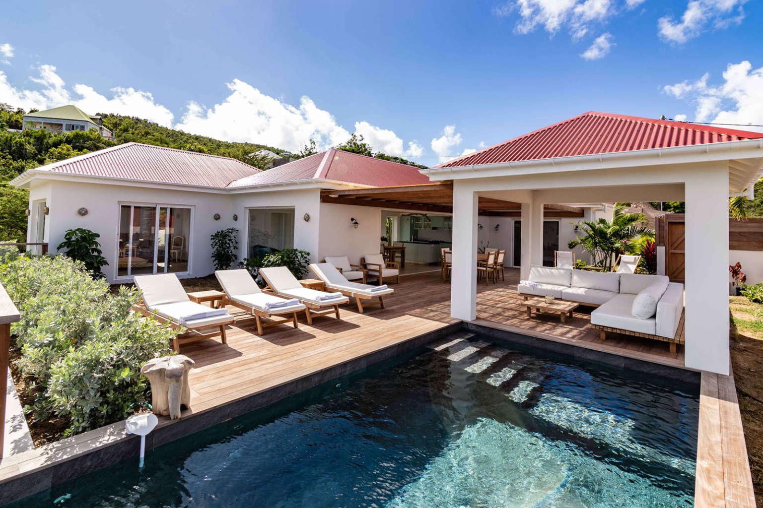 Villa Au Paille En Queue - 2 Bedroom Villa for Rent with Pool - Outside view