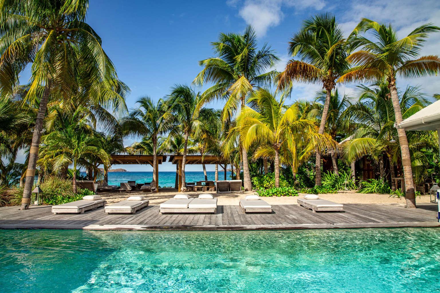 Villa Dei Sogni - 6 Bedroom Villa for Rent St Barth Lorient - Swimming pool