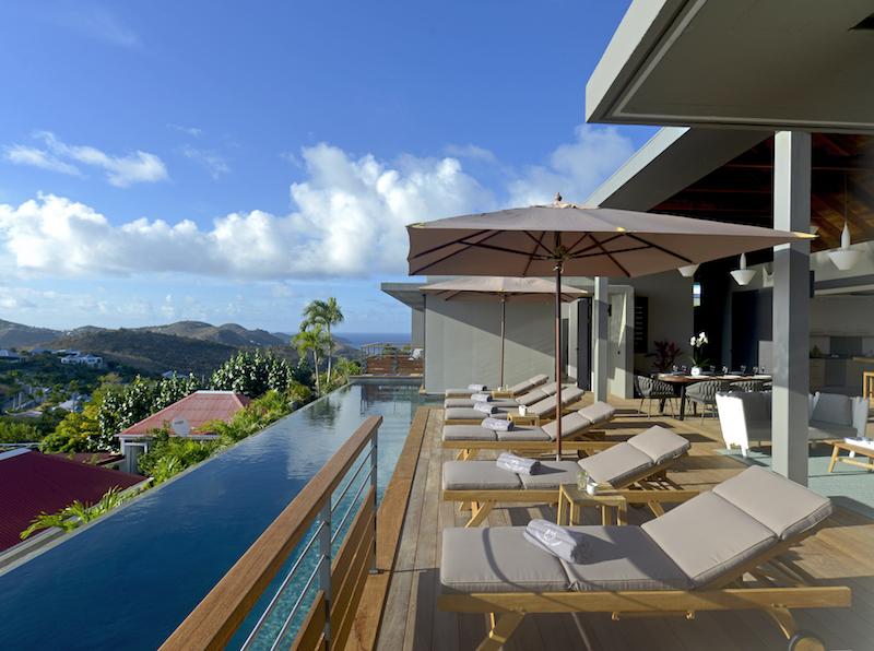 Villa Edunia - Modern and Minimalist Villa Rental St Barth Lurin with an Amazing Seaview and Sunsets - Swimming Pool