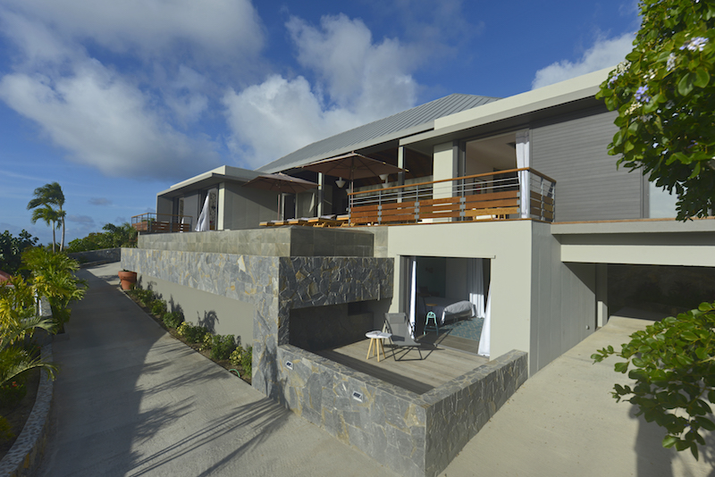Villa Edunia - Modern and Minimalist Villa Rental St Barth Lurin with an Amazing Seaview and Sunsets - Outside view