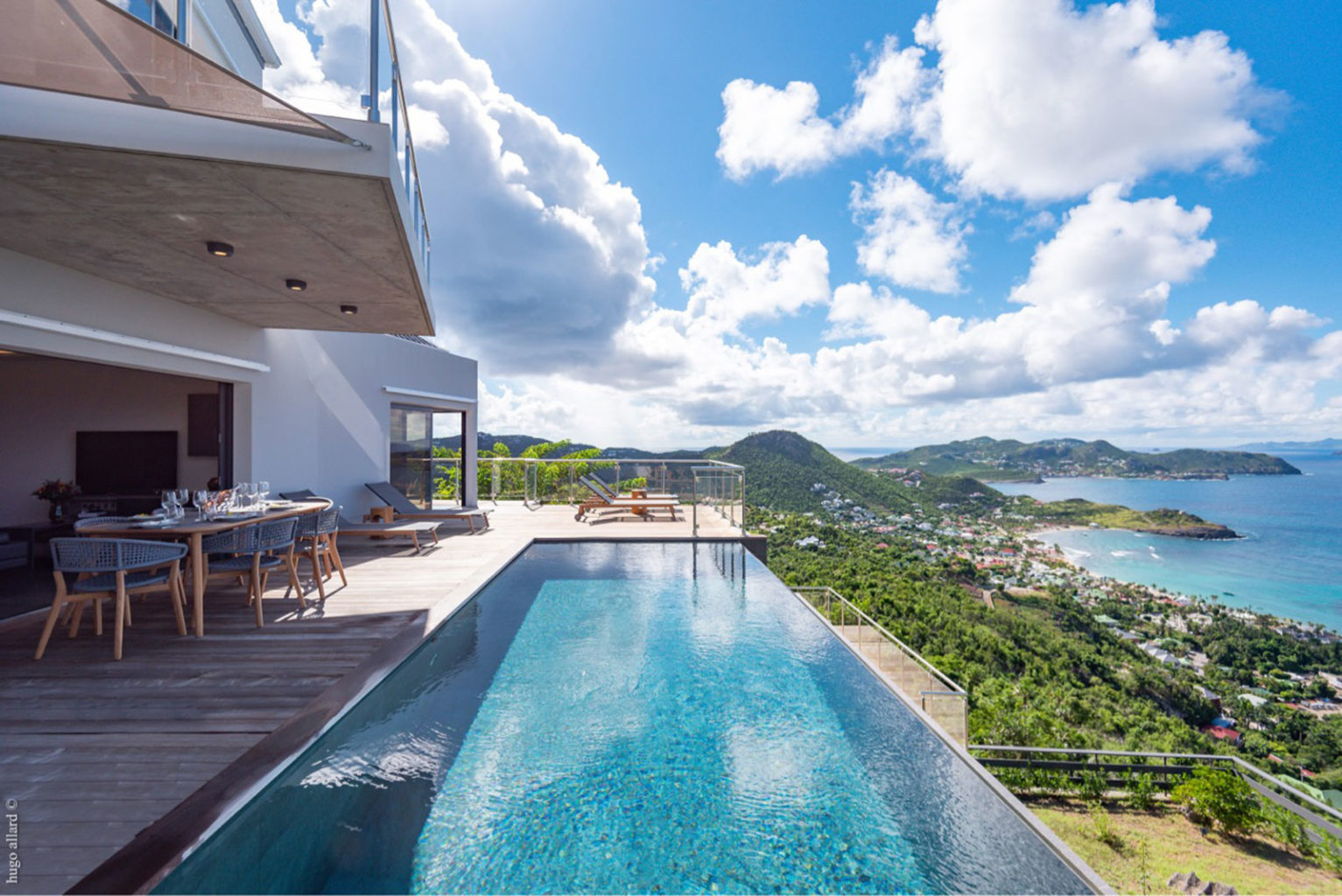 Villa Golden - 2 bedroom villa for rent St Barth Vitet with Gym room - Swimming pool