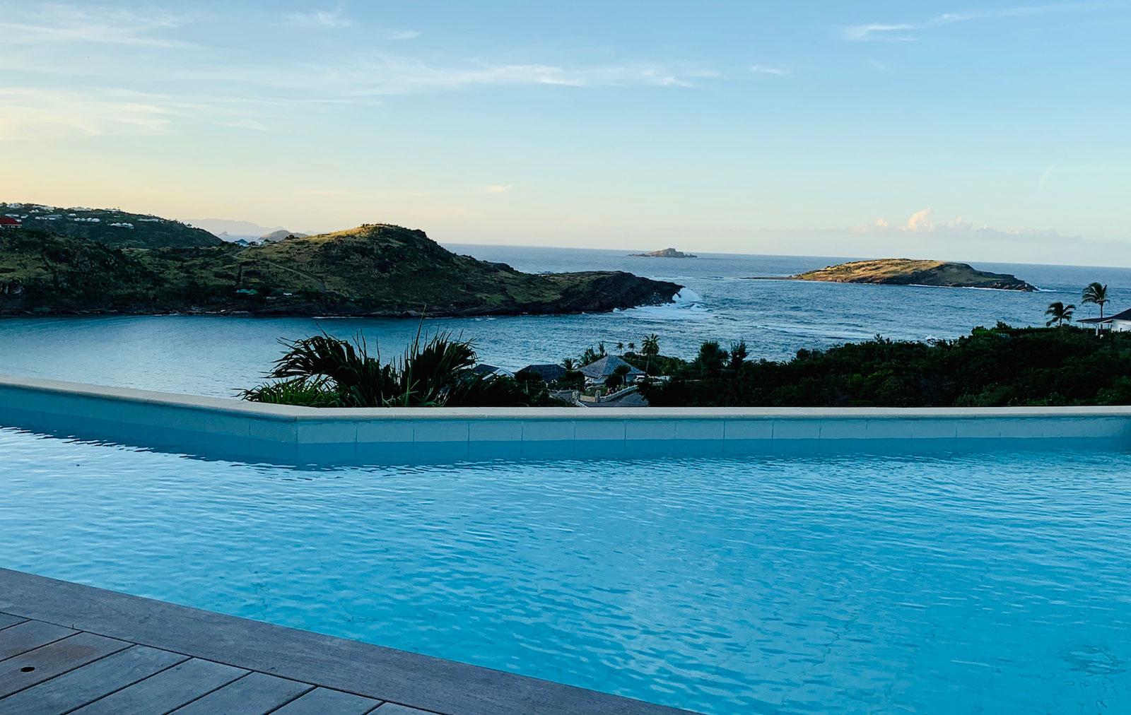 Villa Lagon Rose - Spacious Villa Rental St Barth Petit Cul De Sac with Beautiful Sea View - Sea view