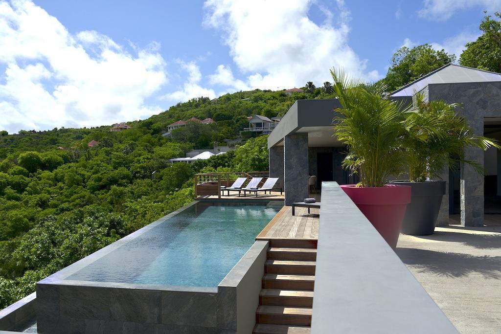 Villa Alpaka - Modern Villa Rental St Barth with Seaview - Outside view