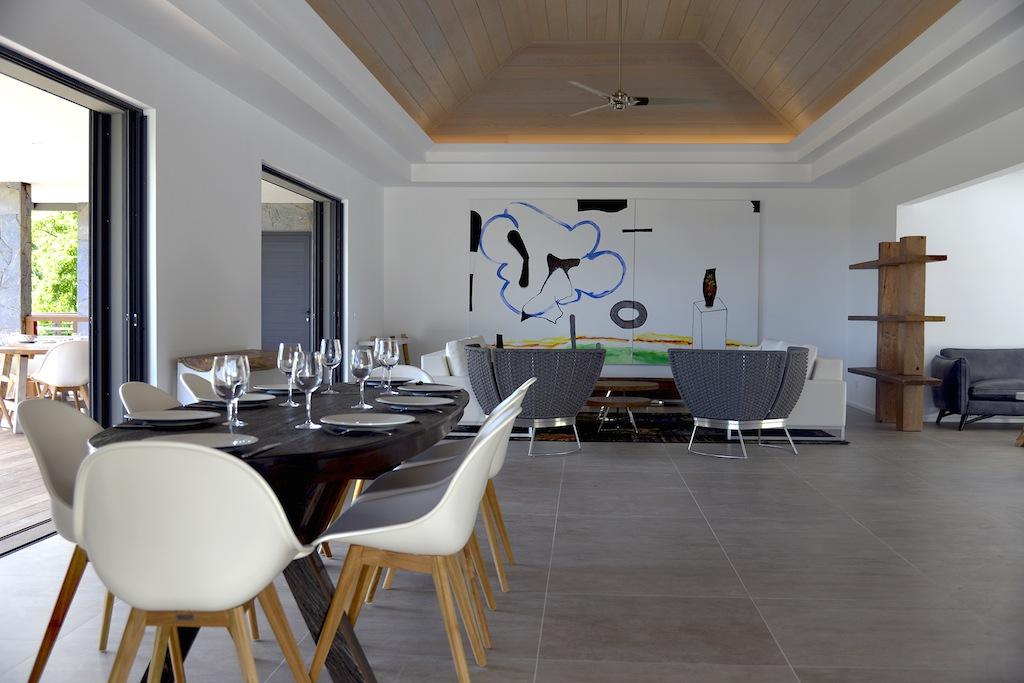 Villa Alpaka - Modern Villa Rental St Barth with Seaview - Main Area