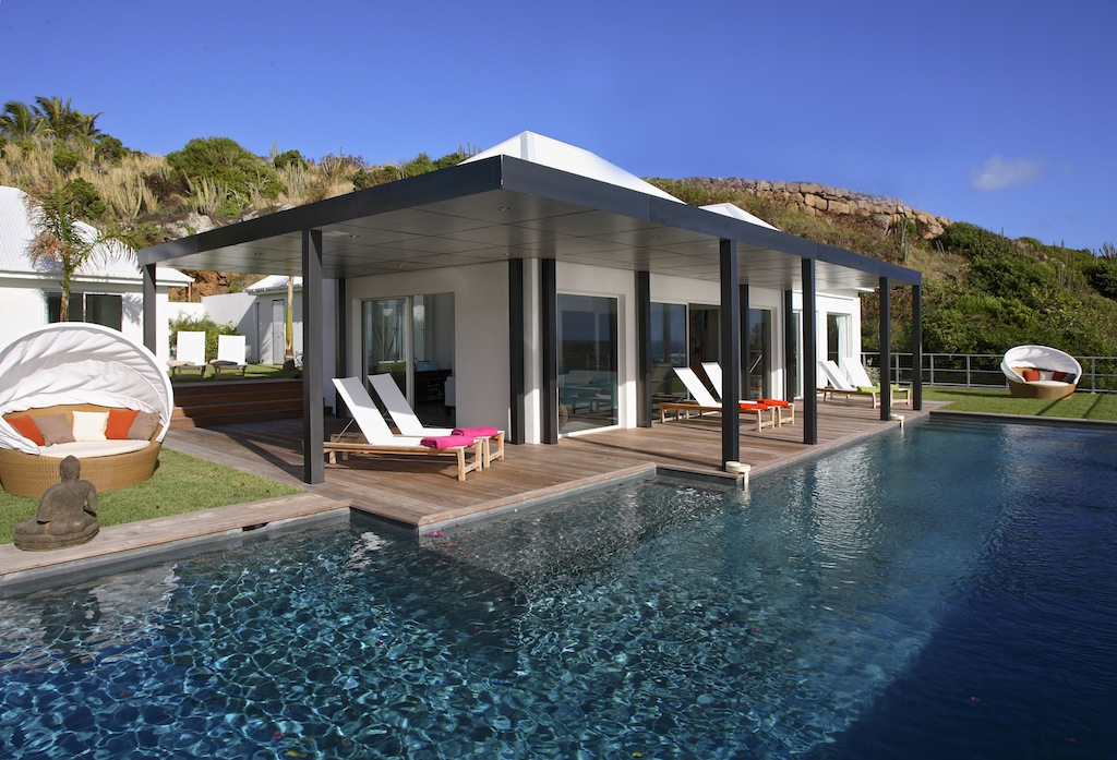 Villa AOM - Sunrise Villa for Rent St Barth with an Infinity Heated Pool - Outside view