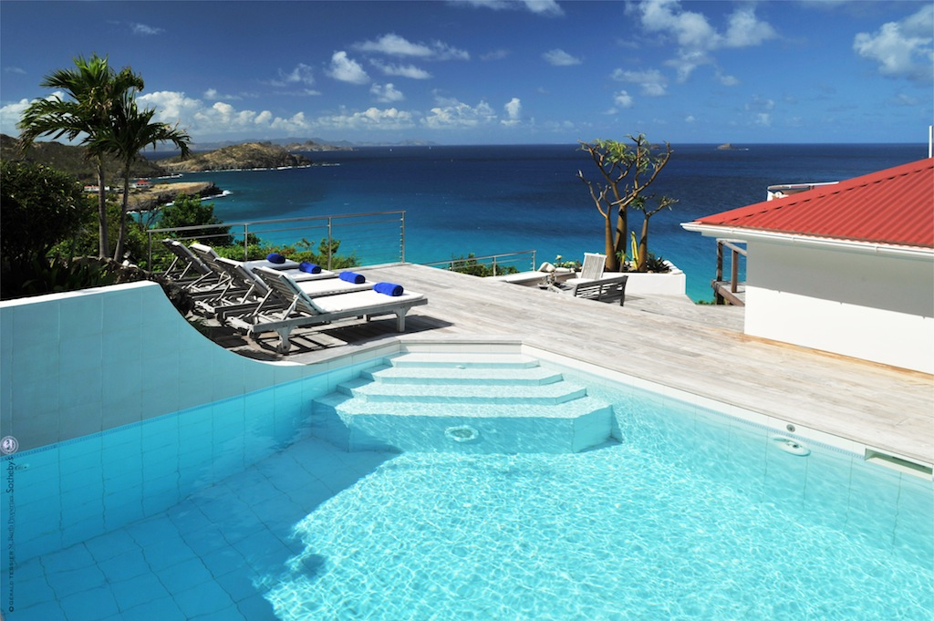 Villa Aventura - 4 Bedroom Villa for Rent St Barth with Jacuzzi and Pool - Pool