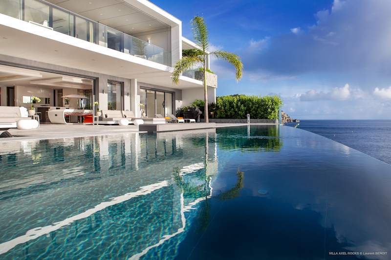 Villa Axel Rock - Ultra Modern Villa Rental St Barth with All the Comforts of a Luxury Villa - Outside View