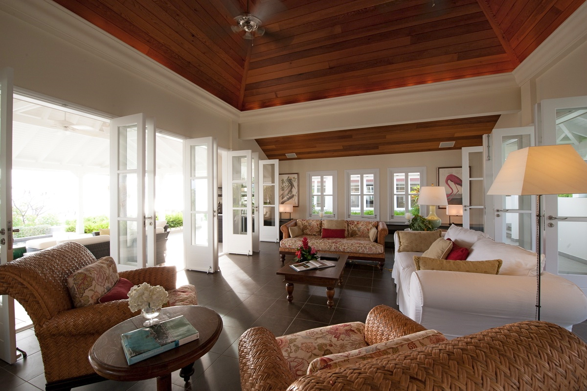 Villa Belle Bague - Hillside Villa for Rent Perfect for Family Holiday in St Barth - Living room