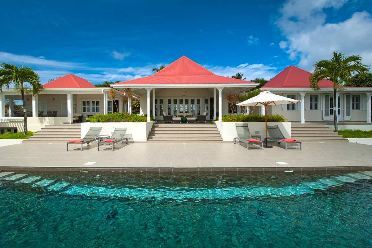 Villa Belle Bague - Hillside Villa for Rent Perfect for Family Holiday in St Barth - Outside view