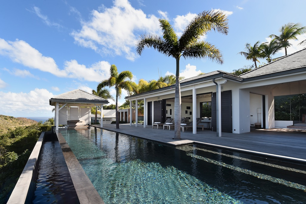 Villa Belle Etoile - Contemporary Villa Rental St Barth with High End Furnitures - Outside View