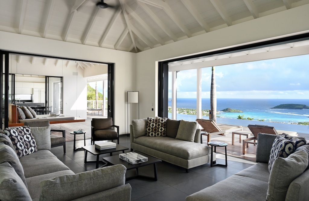 Villa Belle Etoile - Contemporary Villa Rental St Barth with High End Furnitures - Living room