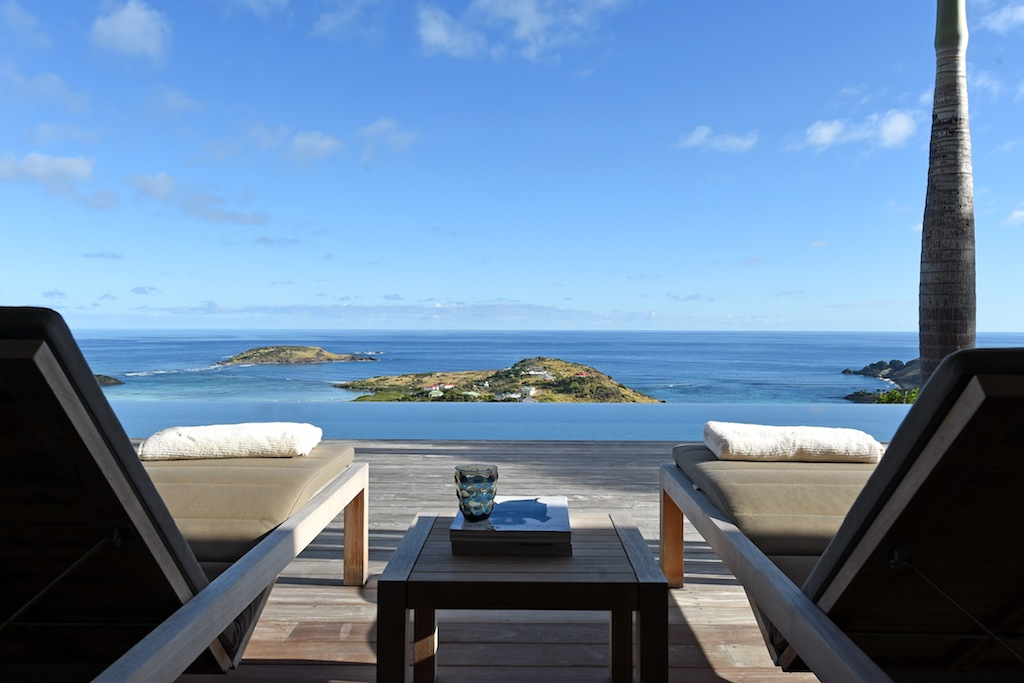Villa Belle Etoile - Contemporary Villa Rental St Barth with High End Furnitures - Ocean View