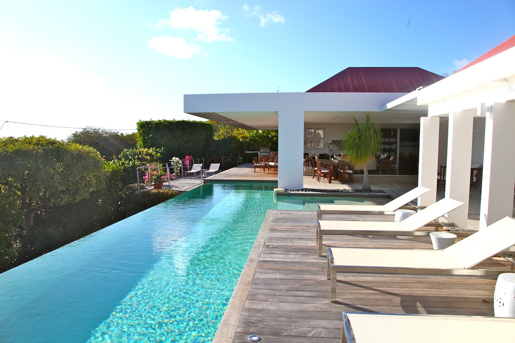 Villa Bellissima - Elegant and Chic Villa Rental St Barth Ideal for a Group of Friends - Outside View