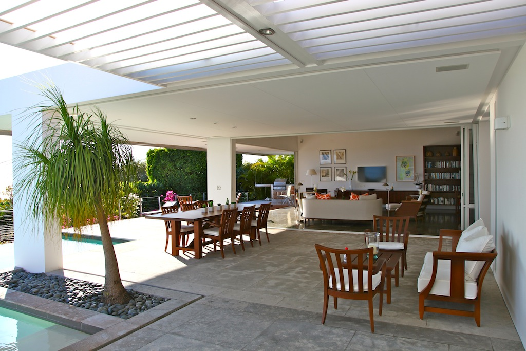 Villa Bellissima - Elegant and Chic Villa Rental St Barth Ideal for a Group of Friends - Terrace