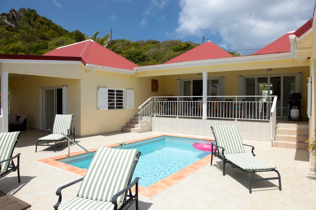 Villa Bonjour - Holiday Villa for Rent with Full Air Conditioning St Barth - Pool