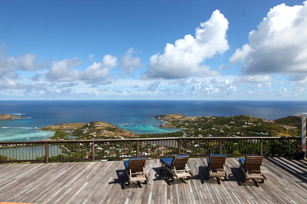 Villa Cheyenne - Isolated Villa for Rent St Barth Located in the Hillside of Dévé - Seaview