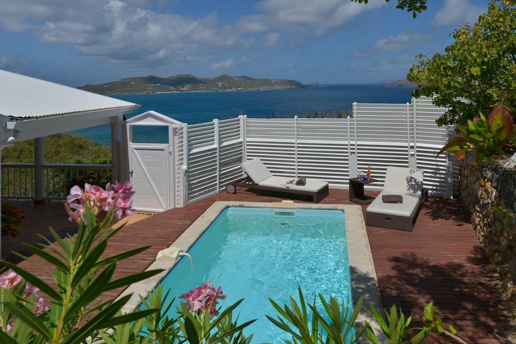 Villa Colibri - 1 Bedroom Villa for Rent St Barth Perfect for a Couple - Pool