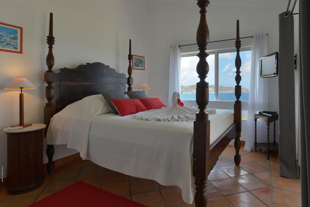 Villa Colibri - 1 Bedroom Villa for Rent St Barth Perfect for a Couple - Bedroom