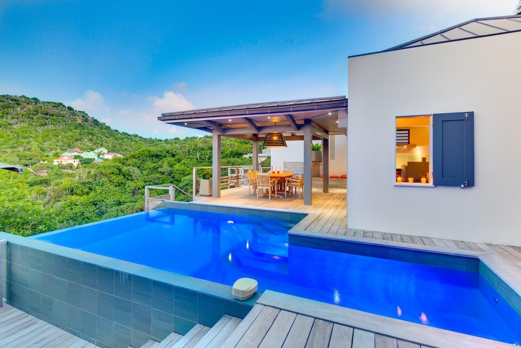 Villa Datcha - Modern and Comfortable Villa Rental St Barth Close to Restaurants - Pool