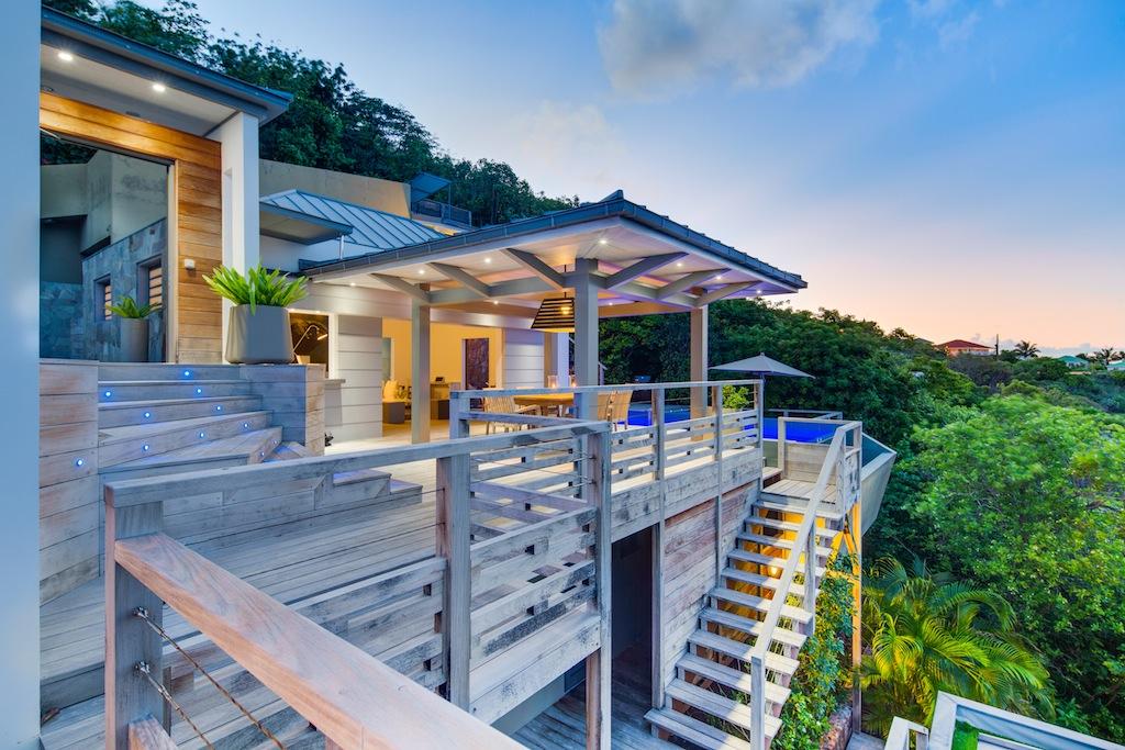 Villa Datcha - Modern and Comfortable Villa Rental St Barth Close to Restaurants - Terrace