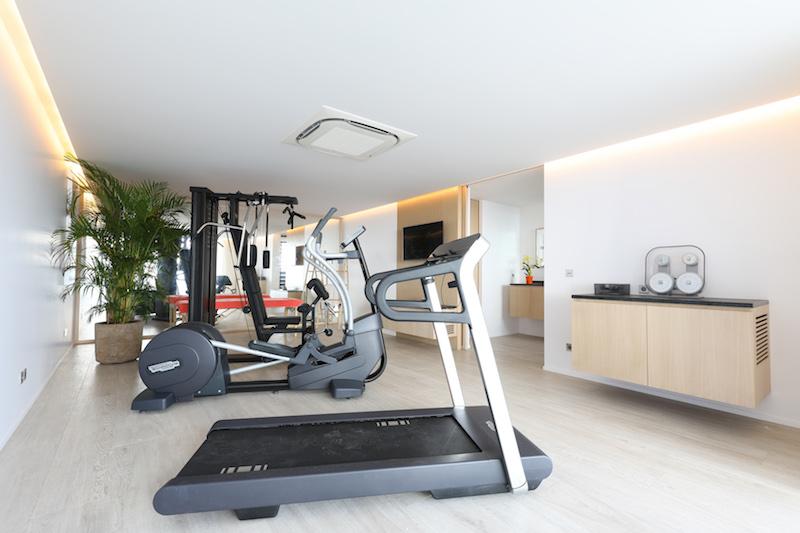 Villa D'zir - 3 Bedroom Villa for Rent St Barth Colombier with Gym - Gym