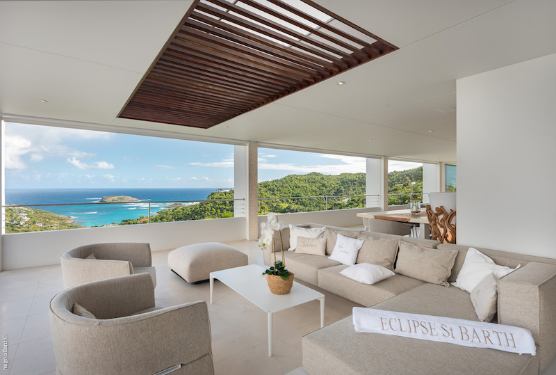 Villa Eclipse - 7 Bathroom Villa for Rent St Barth Perfect for a Large Group of Friends - Patio