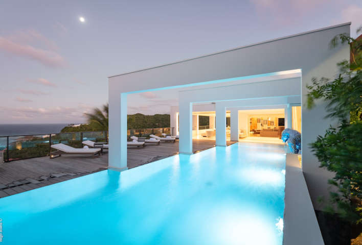 Villa Eclipse - 7 Bathroom Villa for Rent St Barth Perfect for a Large Group of Friends - Pool