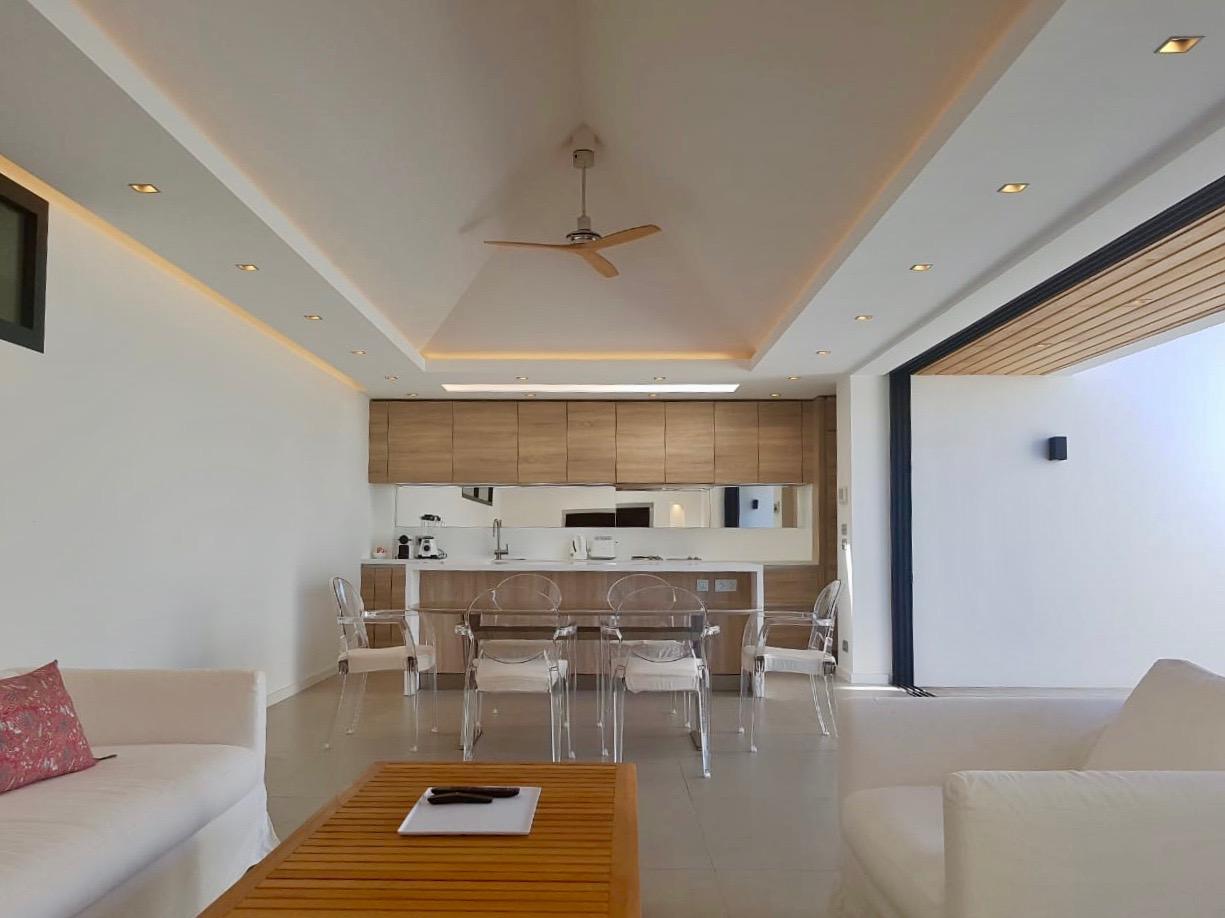 Villa Good Vibrations - Modern Villa Rental St Barth Fully Equipped - Main area