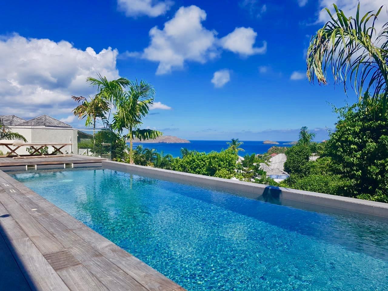 Villa Good Vibrations - Modern Villa Rental St Barth Fully Equipped - Swimming Pool