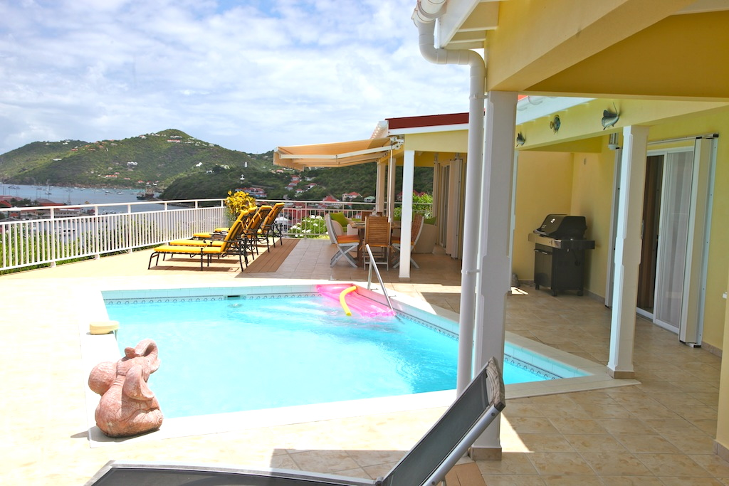 Villa Grand Galet - Oceanfront Villa for Rent St Barth with Pool - Outside View