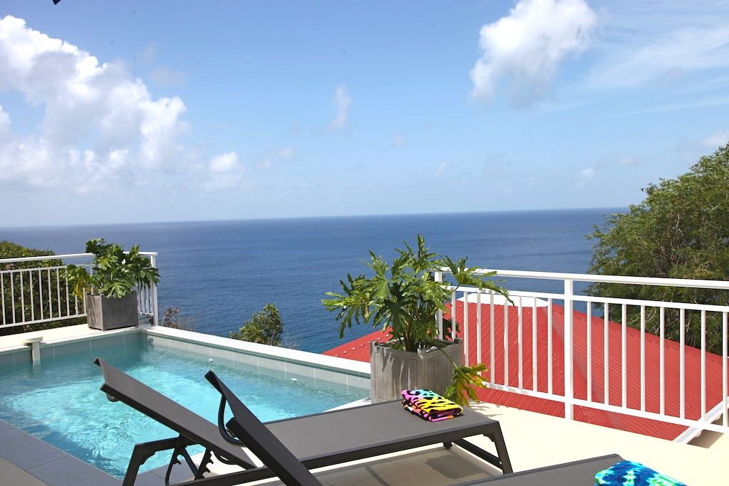 Villa Gros Ilets - Sunset Villa for Rent St Barth Ideal for Family - Seaview