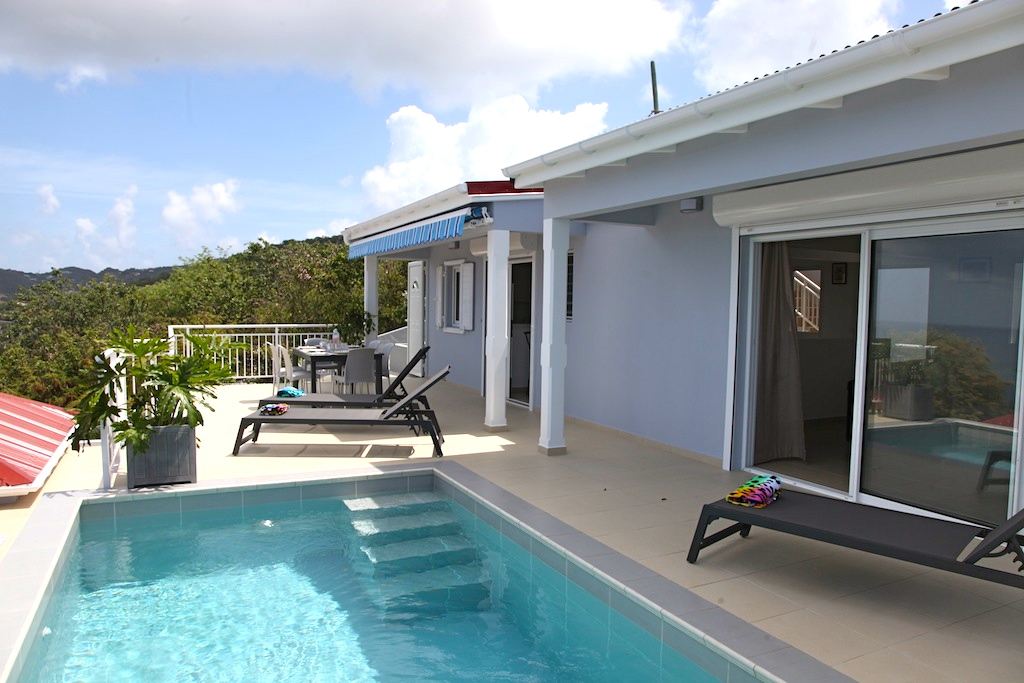 Villa Gros Ilets - Sunset Villa for Rent St Barth Ideal for Family - Outside Viez