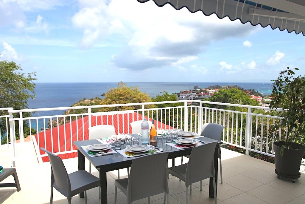 Villa Gros Ilets - Sunset Villa for Rent St Barth Ideal for Family - Terrace
