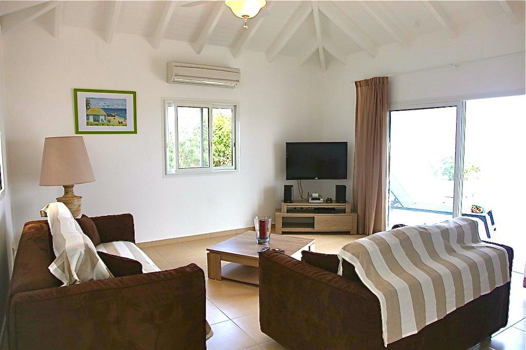 Villa Gros Ilets - Sunset Villa for Rent St Barth Ideal for Family - Living room