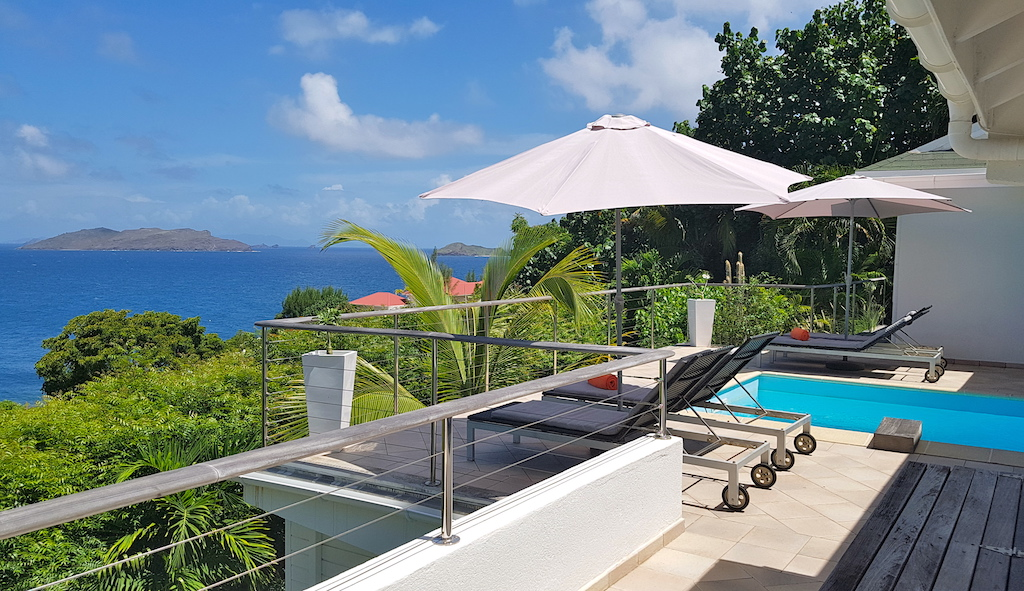 Villa Heloa - Sunset Villa for Rent St Barth with an Amazing View of the Ocean - Terrace