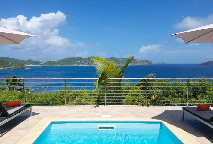 Villa Heloa - Sunset Villa for Rent St Barth with an Amazing View of the Ocean - Ocean View