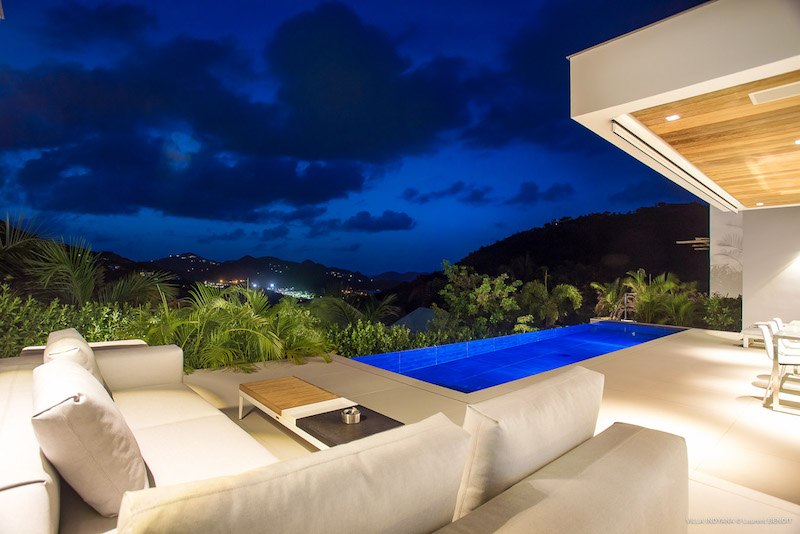Villa Indyana - Modern and Comfortable Villa Rental St Barth with Air Conditioning and Heated Pool - Swimming Pool
