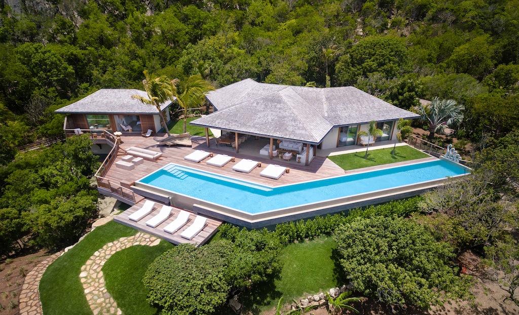 Villa Ixfalia - Privacy Villa for Rent St Barth Morne des Diamands - Outside view