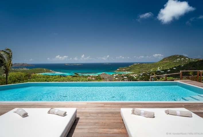 Villa Ixfalia - Privacy Villa for Rent St Barth Morne des Diamands - Ocean view