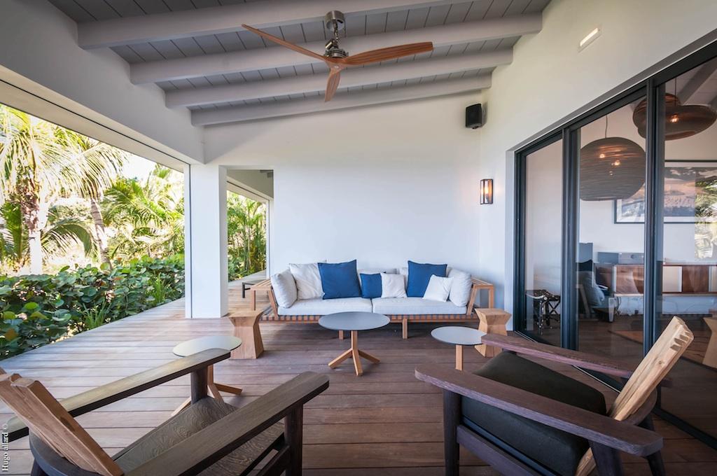 Villa Jocapana - Spacious Sunset Villa for Rent St Barth Lurin - Terrace