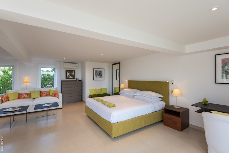 Villa Lakshmi - Spacious Villa with Contemporary Design in St Barth Close to Restaurants and Shopping - Bedroom