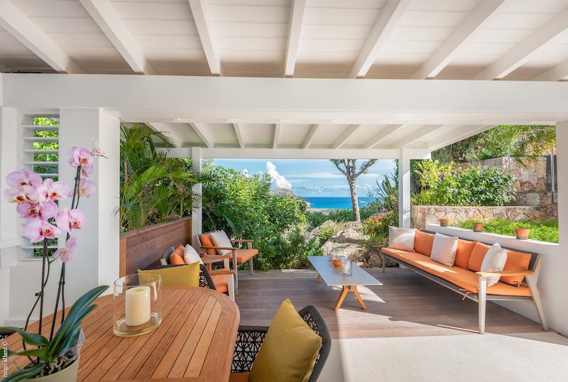 Villa Lakshmi - Spacious Villa with Contemporary Design in St Barth Close to Restaurants and Shopping - Terrace