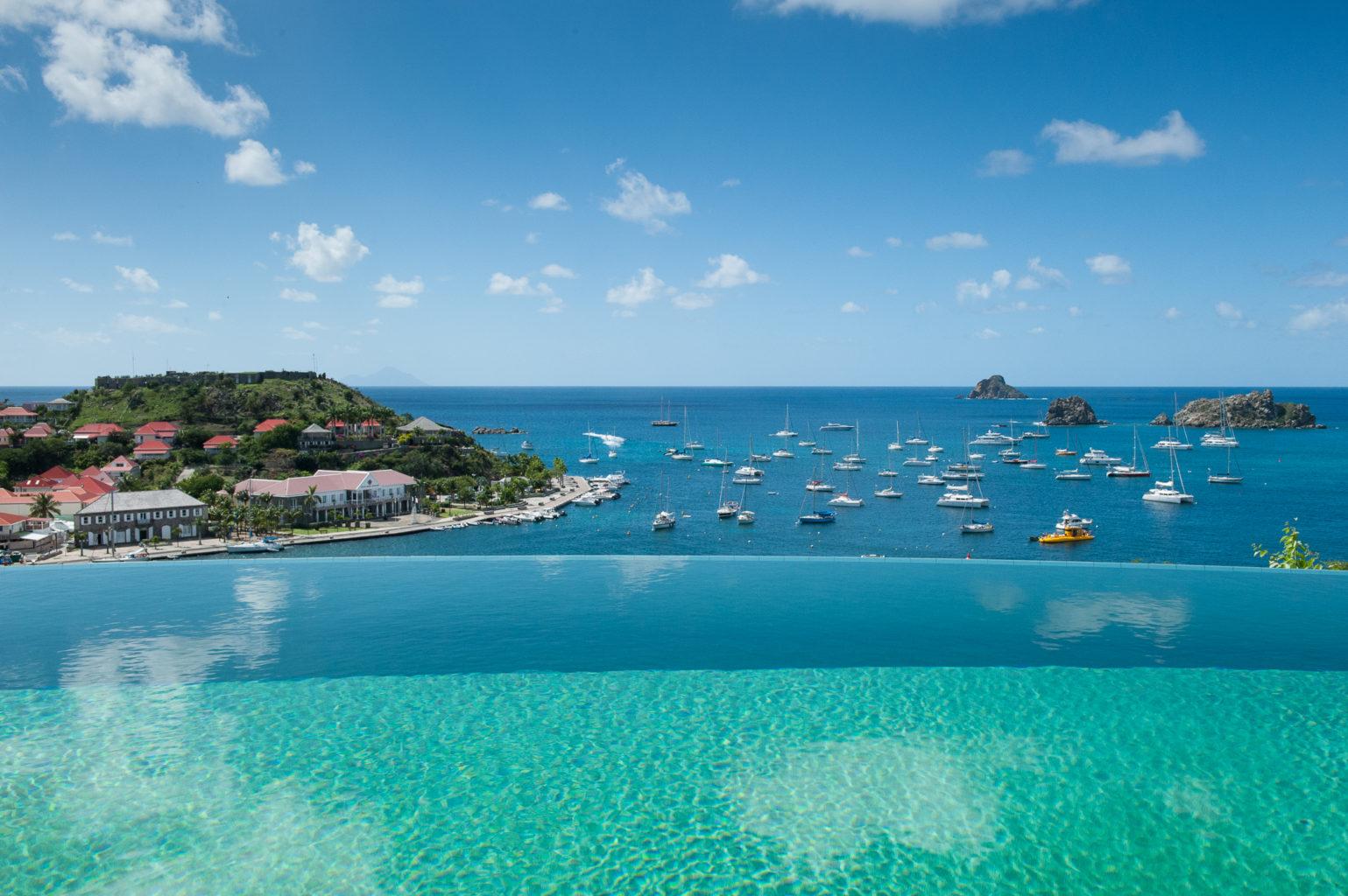 Villa Lam - Modern Villa for Rent with Fitness Equipment St Barth Gustavia - Ocean view
