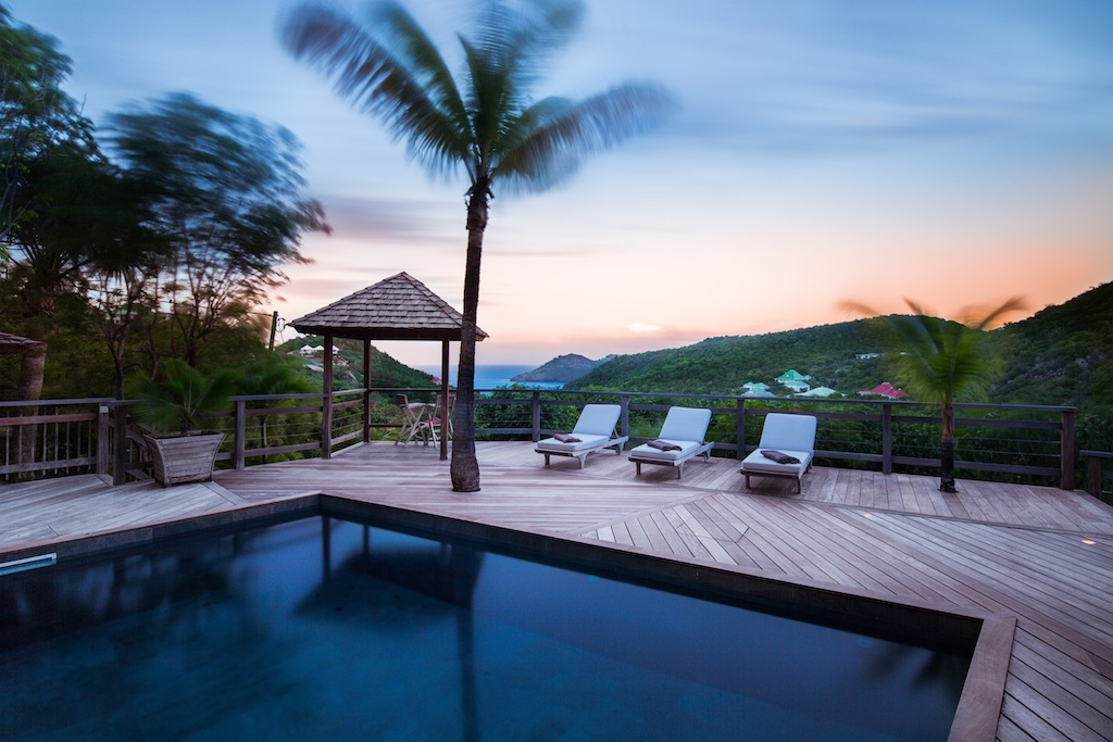 Villa Lama - Isolated Villa for Rent St Barth in a Luxuriant Tropical Garden - Pool