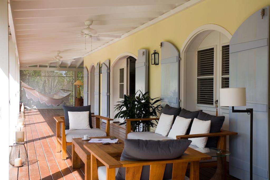 Villa Le Manoir de Lurin - 6 Bedroom Villa for Rent St Barth Positioned in a Calm and Quiet Area - Terrace