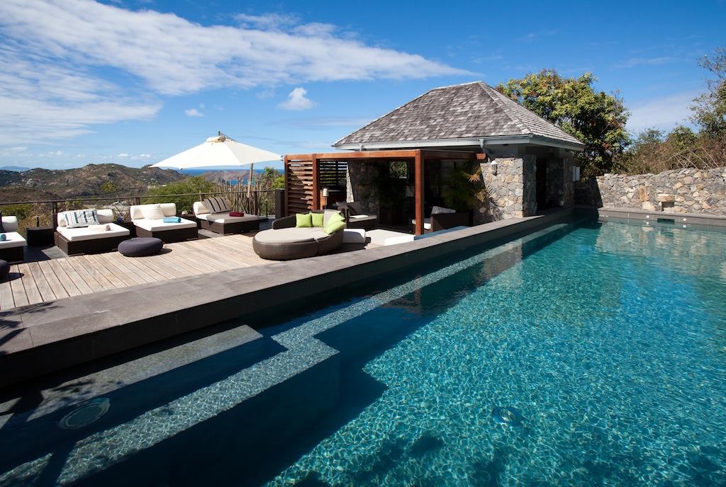 Villa Le Manoir de Lurin - 6 Bedroom Villa for Rent St Barth Positioned in a Calm and Quiet Area - Pool
